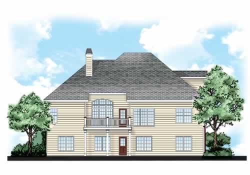 Illustration of Holland House plan