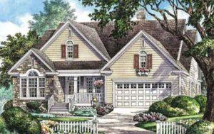 Illustration of Applemoore house plan