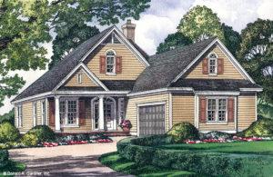 Illustration of Morrison house