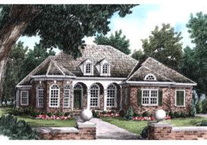 Illustration of Nathaniel house plan