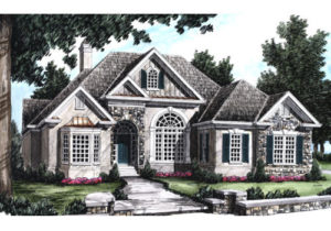 Illustration of Salem House plan